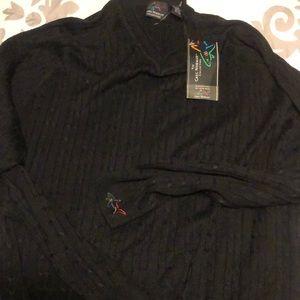 Greg Norman silk sweaters
